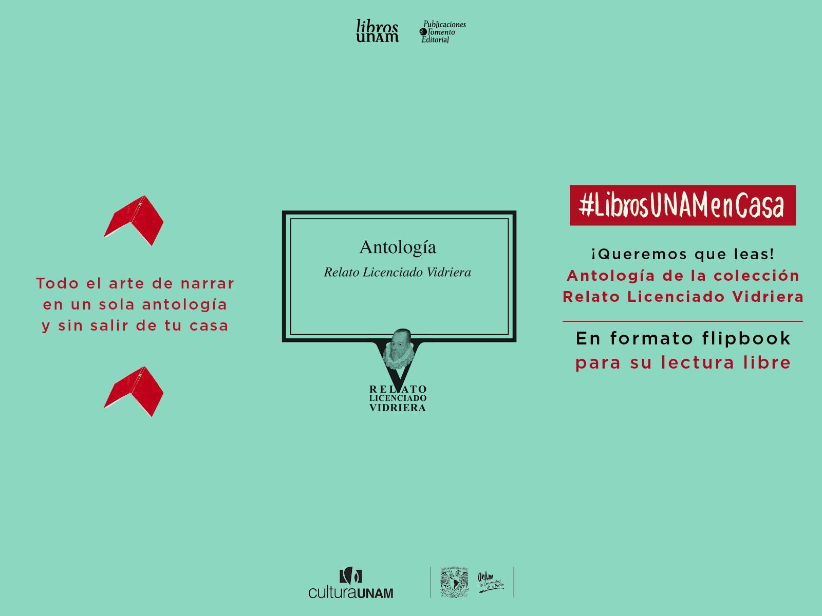 Flipbook Antología Relatos del Licenciado Vidriera-Libros UNAM