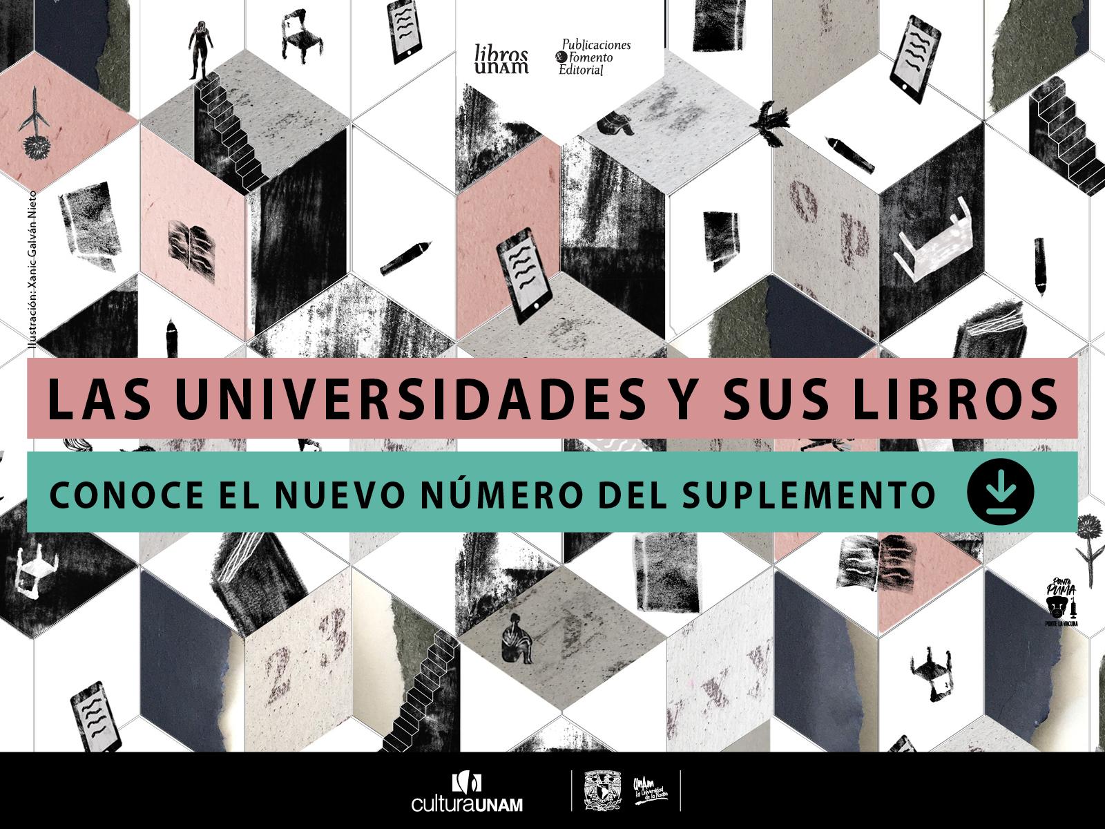 Suplemento de octubre Libros UNAM, Las Universidades y sus libros